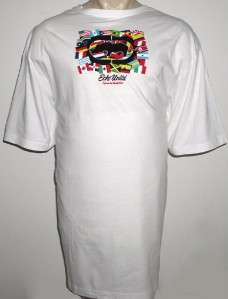 NEW 3XLT ECKO MENS T SHIRT White Flags Tee 3XT 3X TALL