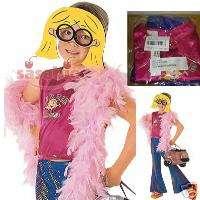 LIZZIE McGuire GIRLS PARTY HALLOWEEN COSTUME MASK XS/S