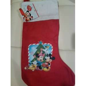 Mickey and Minnie Mouse 15 inch Christmas Stockings
