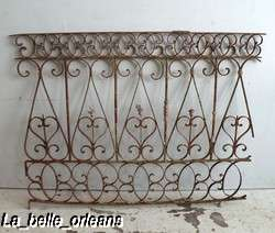 BEST SPANISH WROUGHT IRON DECORATIVE SECTION. L@@k