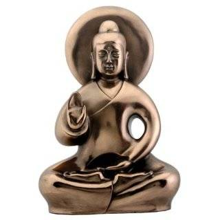 Head Buddha Statue Sculpture Metal Brass Hinduism Buddhism Religion, 4