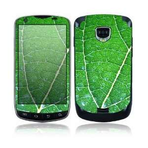 Samsung Droid Charge Decal Skin Sticker   Green Leaf