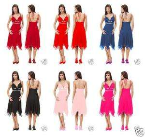 Noble Strap Prom Bridesmaid Cocktail Dress 6013 US 4 18