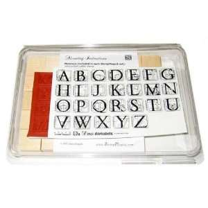 Da Vinci Alphabet Rubber Stamp Kit Arts, Crafts & Sewing