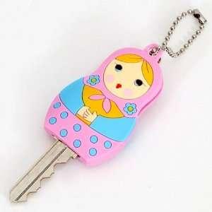 cute pink matryoshka key cover charm Toys & Games