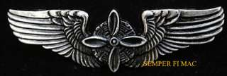 FLIGHT ENGINEER WING US ARMY CORPS HAT PIN US AIR FORCE