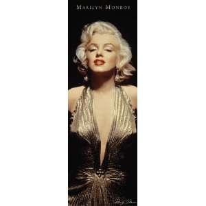 Marilyn Monroe   Gold   Poster (21x62)