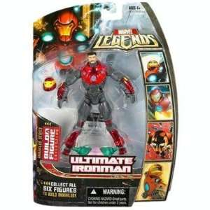 Ultimate Iron Man (Unmasked) Action Figure Toys & Games