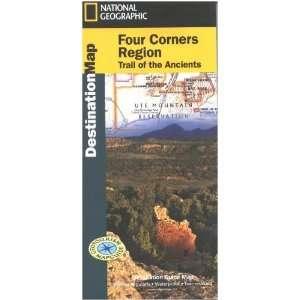 Map Four Corners Region Books