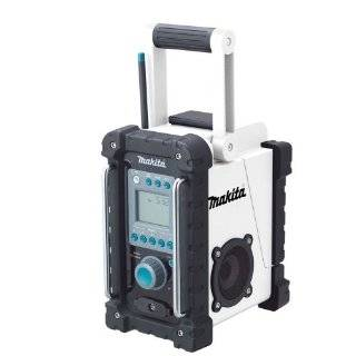Makita BMR100W 18 Volt LXT Lithium Ion Cordless FM / AM Job Site Radio