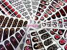 Nail Art Temporary Tattoo Sticker Water transfer 2 06