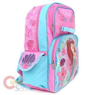 Disney Little Mermaid School Backpack Large Bag 3