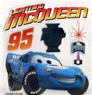Jolees Disney Pixar Cars Lightning Mcqueen 3D Stickers