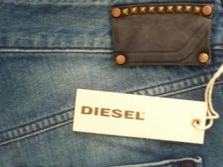 NWT Diesel Vixy Button Fly Jeans 008LB Denim 26/32