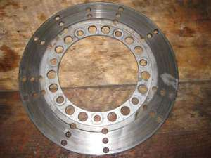 81 Kawasaki KZ750 KZ 750 Front Disc Brake Rotor, Left