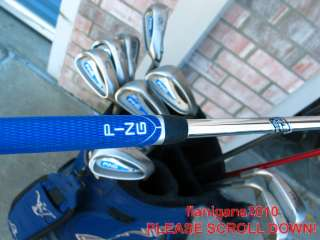 complete SET PING GOLF CLUBS G2 G5 ZING 3 W U Sand LOB IRONS BAG WOODS
