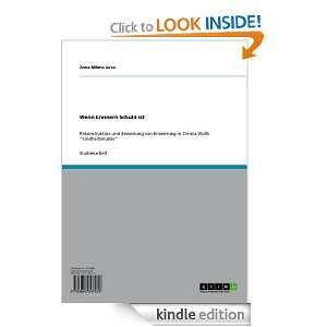 ist (German Edition) Anna Milena Jurca  Kindle Store