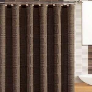Galleria Chocolate Shower Curtain Bath Towels Brown Home