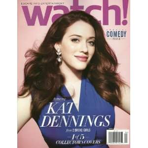 Watch Magazine April 2012 2 Broke Girls Kat Dennings