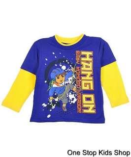 Boys 2T 3T 4T Long Sleeve SHIRT Top KOMODO DRAGON Nickelodeon