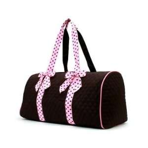 Quality Quilted Microfiber Large Duffle Bag Baby