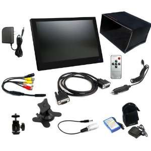 LCD4Video 10 VGA Slimline LCD Monitor Premium Kit