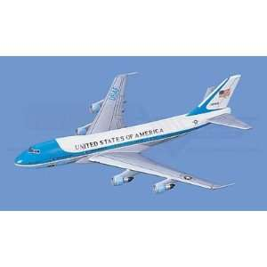 Boeing VC 25A,  Air Force One Aircraft Model Mahogany