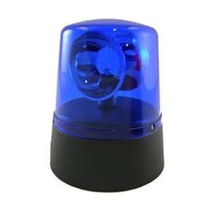 Mini Novelty Police Beacon, Battery Operated, LED, Blue