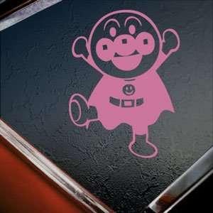 Anpanman Pink Decal Manga Anime Car Truck Window Pink
