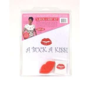 A buck a kiss shirt w/tattoos: Health & Personal Care