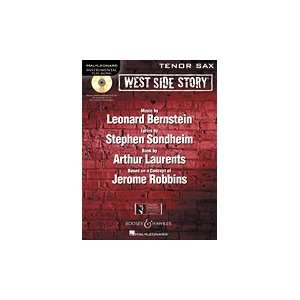 West Side Story for Tenor Sax   Instrumental Play   Along Book/CD Pack