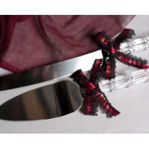 Gothic Romance Cake Server Set: Kitchen & Dining