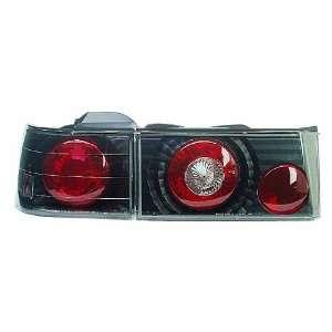 90 91 Honda Accord 4dr JDM Black Altezza Euro Tail Lights