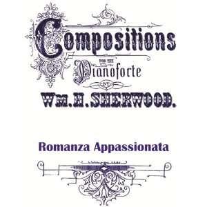 (Reprint of 1883 Edition MUSIC SCORE): W H Sherwood: Books