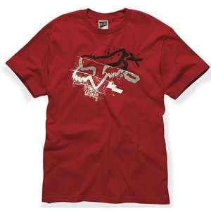 Fox Racing Three Minutes T Shirt   Medium/Silver