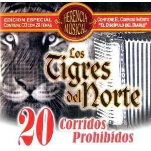 20 Corridos Prohibidos Los Tigres del Norte Music