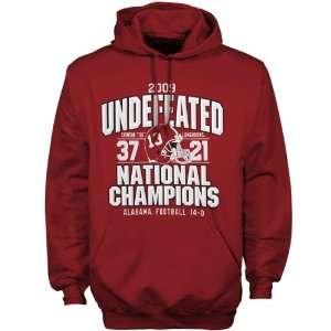 Alabama Crimson Tide Crimson 2009 BCS National Champions