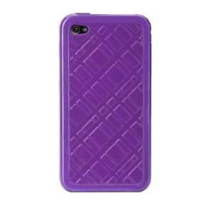 for iPhone 4 (Purple) (Fits AT&T iPhone) Cell Phones & Accessories