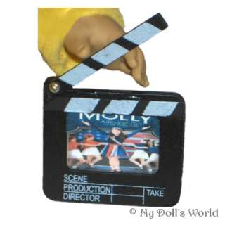 MOVIE CLAPBOARD FIT AMERICAN GIRL MOLLY~KIT~FELICITY