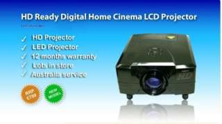 HD Home Theatre LED Projector Lamp Life 50,000 HRS Wii XBox PS3 Bluray