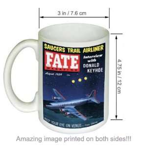 Fate Magazine Cover Sci Fi Fantasy Art Vintage COFFEE MUG