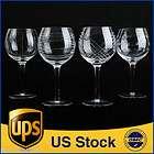 Lotus Glass Crystal BROCADE GOLD Wine Goblet Stemware