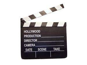 HOLLYWOOD Movie Clappers SLATE BOARD Wood Clapboards