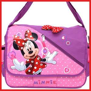 Disney Minnie Mouse School Messenger Bag /Diaper Bag /Shoulder Bag