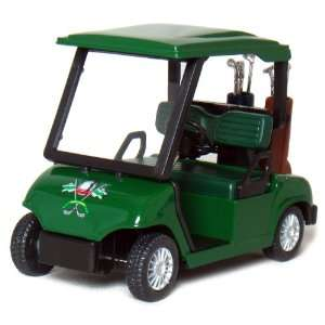 4½ Die cast Metal Golf Cart Model (Green) Toys & Games