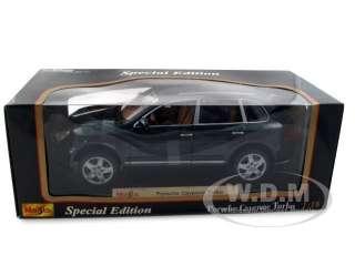 diecast car model of Porsche Cayenne Turbo die cast car by Maisto