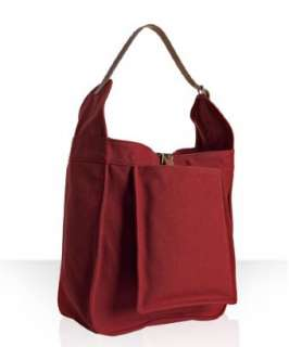 Hermes red canvas Marwari large shoulder bag  BLUEFLY up to 70% off
