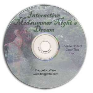 A Midsummer Nights Dream CD ROM