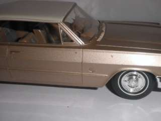 1963 Chevrolet Impala Hardtop promotional model car by AMT