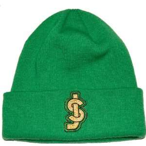 Shake Junt Cold Crusher Beanie Green Skate Beanies: Sports